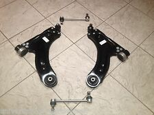 VAUXHALL CORSA C 00-06 TWO FRONT LOWER WISHBONE SUSPENSION ARMS & TWO DROP LINKS