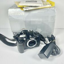 Nikon D100 6.1MP Digital SLR Camera Body with Original Box Battery & Charger