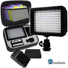 LimoStudio 160 LED Video Light Lamp Panel Dimmable for DSLR Camera DV Camcorder,