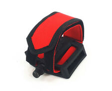 X-LITE BICYCLE PEDAL NYLON DOUBLE WIDE STRAPS, RED