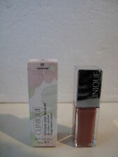 "CLINIQUE - POP LACQUER -  ""lip colour + primer""  n° 1 cocoa pop."