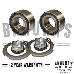 Vauxhall Vivaro X83 1.9 2.0 2.5 2001-2015 Front Wheel Bearings Kit Pair x2 *New*