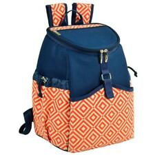 Picnic At Ascot 537-Do Cooler Backpack - Diamond Orange