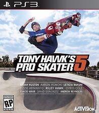 Tony Hawk's Pro Skater 5 (Sony PlayStation 3, 2015) PS3 NEW Factory Sealed