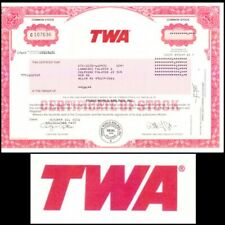 Trans World Airlines Inc (Twa) 2001 Stock Certificate