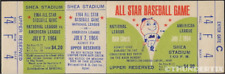 5 1964 BASEBALL ALL-STAR & WORLD SERIES  GAME VINTAGE UNUSED FULL TICKETS rpo