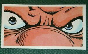 KRANG   Teenage Mutant Hero Turtles   Superb Illustrated Small Card