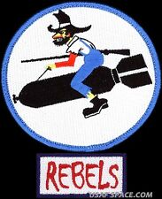 USAF 730th AIR MOBILITY TRAINING SQ –HERITAGE + REBELS POCKET TAB ORIGINAL PATCH