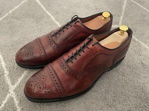Allen Edmonds Strand cap toe oxford dress shoes - Oxblood size 9 EEE US