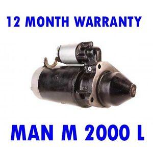 MAN M 2000 L 1995 1996 1997 1998 - 2015 REMANUFACTURED STARTER MOTOR