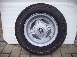 Felge Rad Vorderrad, neu lackiert / Front Wheel Honda CY 50