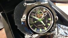 RARE NEW Renato T REX  Watch BLACK /GREEN Limited Edition 41/125 Swiss