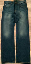 Levi 501 Button-Fly Jeans Womens Size W29 L30 Retailed At $68