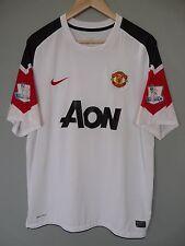 Vtg Manchester United 17 Nani Nike 2010 Away Football Shirt Trikot Jersey Sz XL