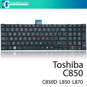 Keyboard for Toshiba Satellite C850 C850D C855 D L850 L850D L855 L855D Black
