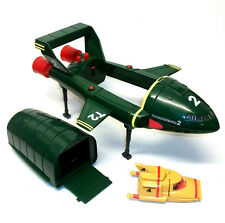 """Gerry Anderson Supersize 13"""" THUNDERBIRD 2  ship toy  with TB4 & 1 mini figure"""