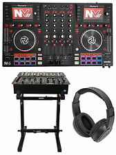Numark NVII Dual-Display Serato DJ Controller 4-Channel, USB+Stand+Headphones