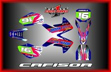 Honda CRF150R 07-15  SEMI CUSTOM GRAPHICS KIT CCORALI