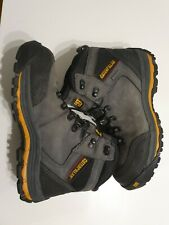 Mens Caterpillar Munising composite toe work boots size 9