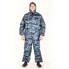 Russian Army Light summer VVZ rainsuit Kamysh blue Camo MVD OMON, all sizes.