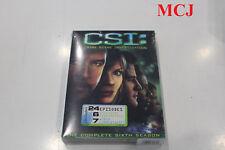"""BRAND NEW"": CSI: Crime Scene Investigation - Season 6 (DVD) - REGION 1"
