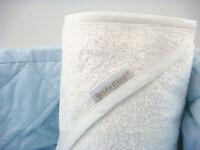 [2 Sets] Kidz Kiss Bamboo Baby Velour Hooded Towel [Super Soft / 80 x 80cm]