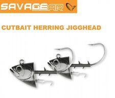 Savage Gear Cutbait Herring Jighead 295g 10/0 - 2 Stück, Meeresangeln Jigköpfe