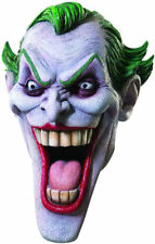Joker Mask Batman Begins Licensed Full Head Latex Comic Book Character Mask