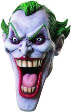 Joker Mask Batman Begins Licensed Full Head Latex Comic Book Character Mask