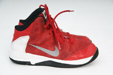 Nike Air Without A Doubt Youth Black Basketball Boots/Shoes-Kids-Boys-Girls 2Y