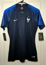 NWT Nike Women's France 18-19 World Cup Home Jersey 893952-451 Women's Sz Large