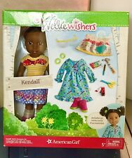 American Girl WellieWishers Kendall Doll & Accessories Set New in Box NRFB