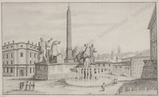 """""""Motive of Rome"""", Continental School, Drawing, Early 19th Century"""