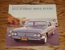 Original 1961 Buick Full Size Sales Brochure 61 Electra Invicta Lesabre