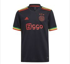 More details for ajax 3rd shirt 21/22 - bob marley three little birds - brand new - all sizes