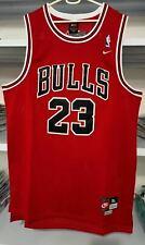 New NBA Jersey Michael Jordan #23 Chicago Bulls Vintage Retro Red UK Stock