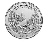 🇺🇸 US Quarter coin 25 cents Frank Church River of No Return Idaho UNC 2019