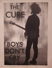 "TOUR POSTER~The Cure Live On Stage Robert Smith NOS 17x22"" UK Import Classic~"