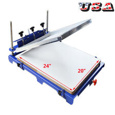 "Adjustable 1 Color Screen Printing Press with 20""x 24"" Pallet Squqre Big Board"