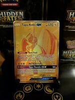 Pokemon TCG Tapu Koko GX SV93/SV94 Hidden Fates Secret Rare Gold Fresh Pull