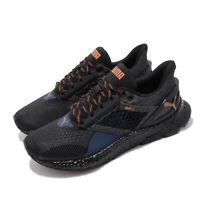 Puma Hybrid Astro Black Navy Orange Men Running Training Shoes Sneaker 192799-05