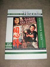 """LE GARDE DU CORPS - AKIRA KUROSAWA - DVD """"LE MONDE"""""""