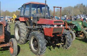 CASE 4x4 tractor photo 6x4  b