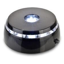 Santa Cruz Lights 4 LED Round White Light Stand Base for Crystals/Glass Art …