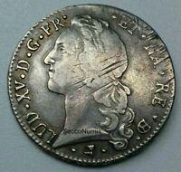 Louis XV. Écu Au Bandeau 1763 Béarn PAU