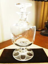 Lalique Crystal Footed DECANTER - NICE!