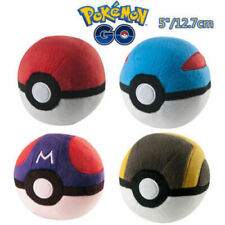 Pokemon Pokeball Master Ball Great ball Cosplay12cm Plush Toy Doll AU stock Poke