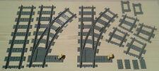 LEGO® City Eisenbahn flexibles Weichenpaar 2x rechts 7895 7499 7996   bricktrain