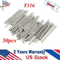 """50pcs T316 Lag Stud Hand Swage for 1/8"""" Cable Railing Lot Stainless Steel Rig"""