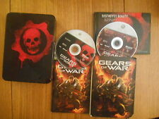 Gears Of War 1 (édition collector) / Jeu XBOX 360 / Complet